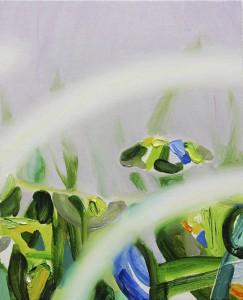 arpeggio 2014 Oil on cotton, panel 23.2 x 19 cm