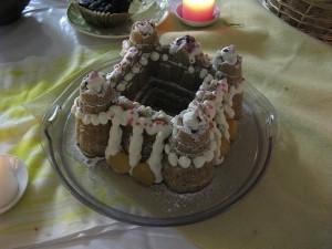 お城のケーキ デコレーション〈 mini party /tencount open studio '08 winter 〉2008