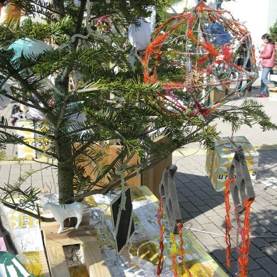 〈 100本のクリスマスツリー 100 Chrismas Trees 〉2011