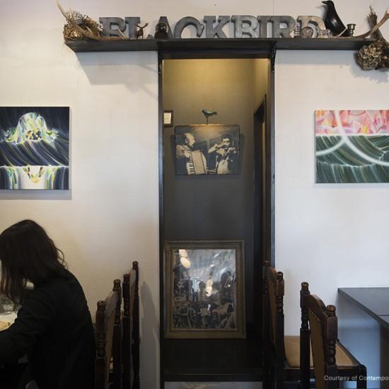 "〈 ""Coffee & Art"" vol.4 Kaori Furuhashi 〉2014-2015 trattoria blackbird"