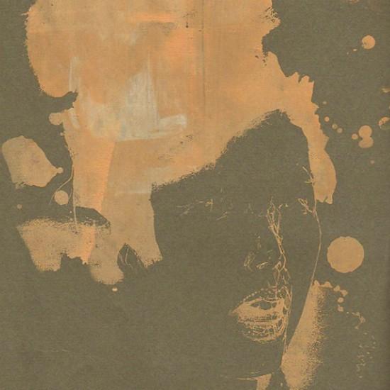 ブラインド blind 2007 Screen printing, oil on paper 29.7 x 21 cm