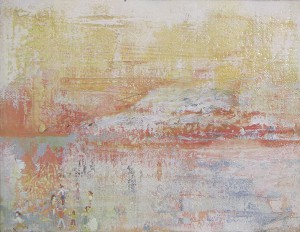 野原 a field 2007 Oil on canvas 14.2 x 18 cm