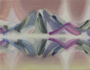 fjellet mountain 2014 Oil on cotton, panel 14 x 18 cm