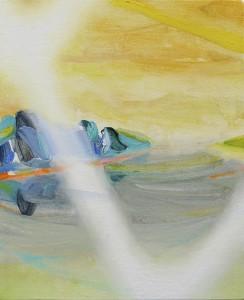 fragment 2014 Oil on cotton, panel 23.2 x 19 cm