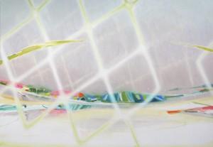 soft planet 2014 Oil on cotton, panel 114.2 x 165 cm