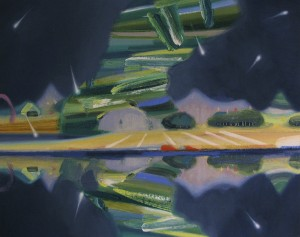 soft planet 2013 Oil on cotton, panel 29.5 x 37 cm