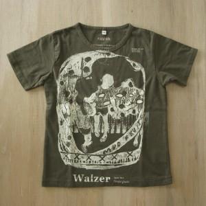 walzer / Tempo Giusto 2010 Screen printing on T-shirt (khaki) kids 120
