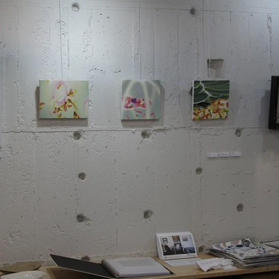 〈 絵を飾る presenting paintings 〉2015