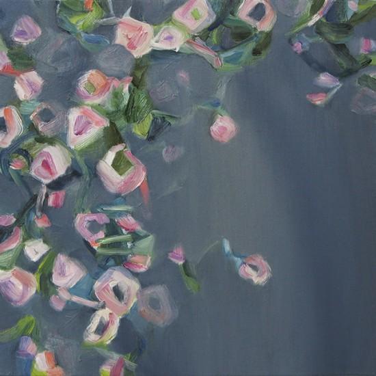 creeping thyme 2016 Oil on cotton, panel 30 x 30 cm
