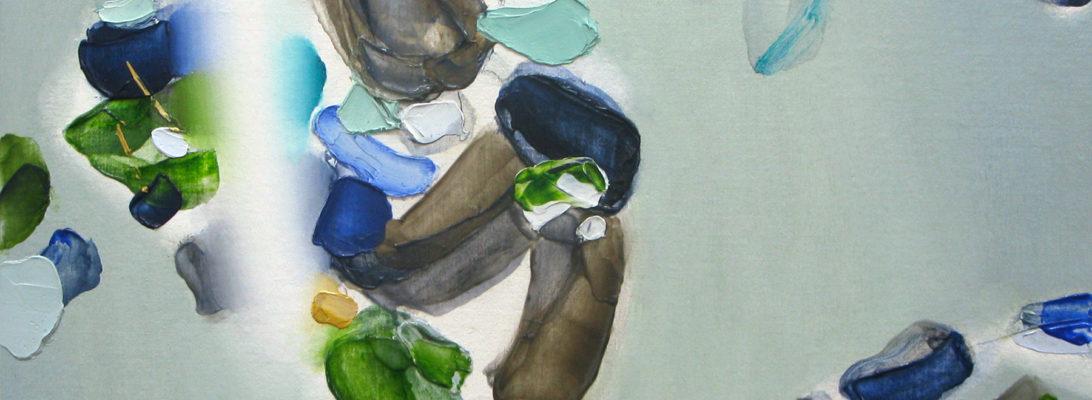 Sleeping Seabird 2020 Oil on cotton on panel 32 x 30 cm