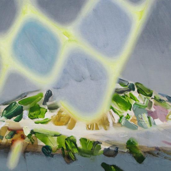 温度のない Athermic 2020 Oil on cotton on panel 50 x 65 cm