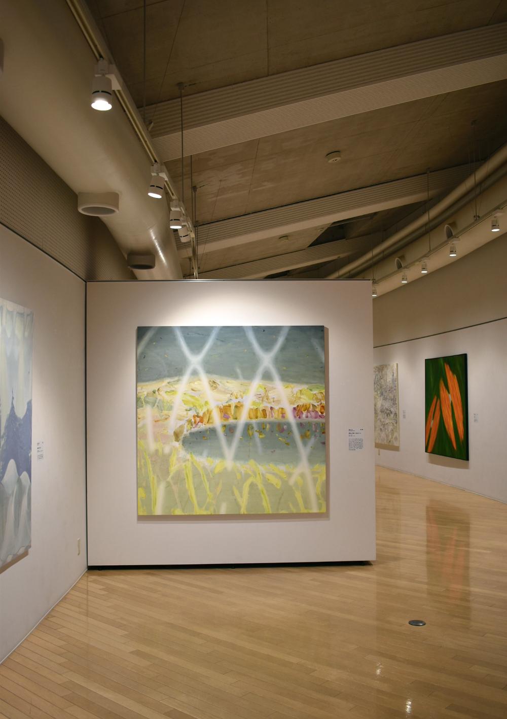 清須市第10回はるひ絵画トリエンナーレ 展示風景